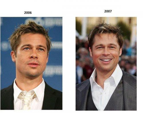 Как менялся с возрастом Брэд Питт (5 фото)