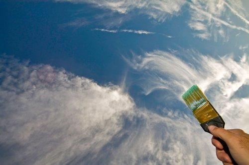 Облака - фото с креативом (18 фото)
