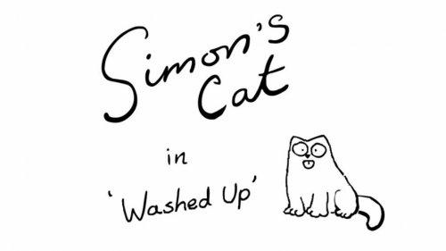 Кот Саймона: Постиранное бельё