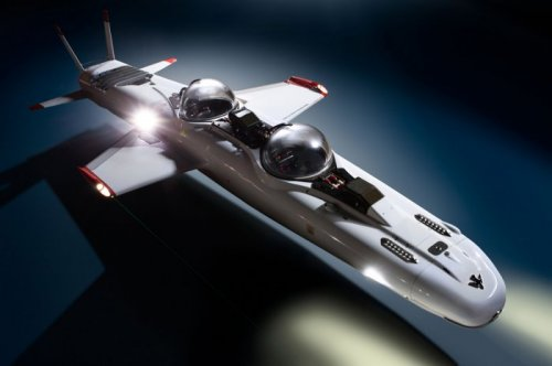 Двухместная субмарина Deepflight Super Falcon Mark II (9 фото)