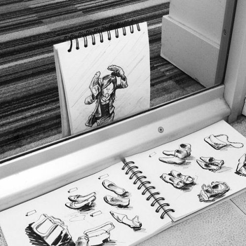 Забавные скетчи Дэвида Трокье (19 фото)