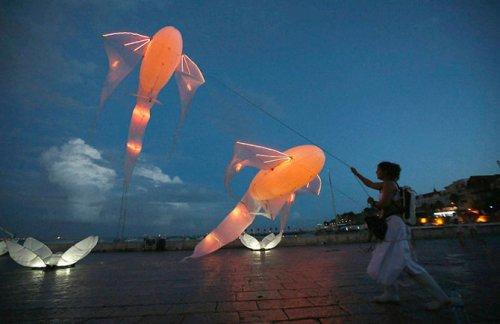 В Португалии прошёл фестиваль света Lumina-2014 (13 фото)
