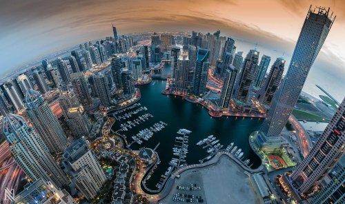 Наша планета с высоты птичьего полёта (13 фото)