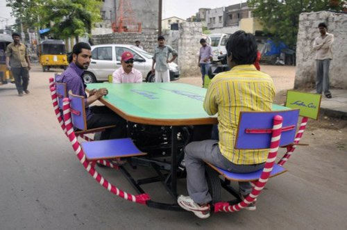 Необычные транспортные средства Судхакара Ядава (19 фото)