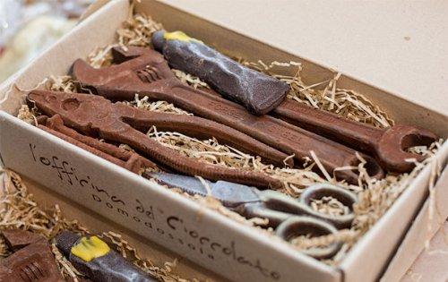 Шоколад как произведение искусства (29 фото)