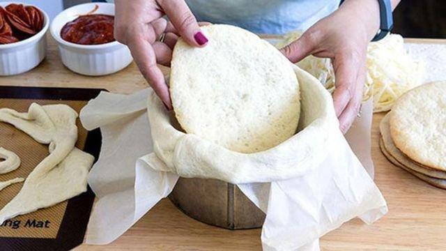 Как сделать тесто для пиццы и сам у пиццу своими руками 12