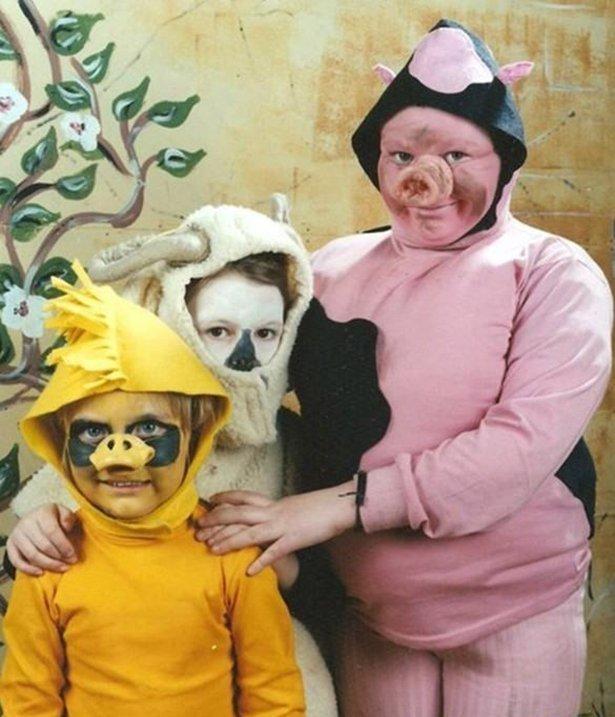 Детские костюмы на новый год смешные
