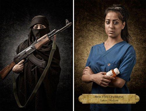 Не суди о книге по обложке: фотопроект Джоэла Пареса (10 фото)