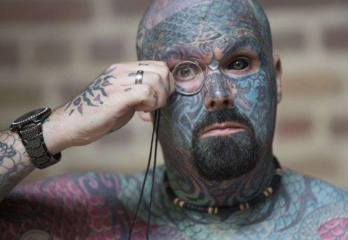 X Международный слёт, посвящённый татуировкам в Лондоне (11 фото)