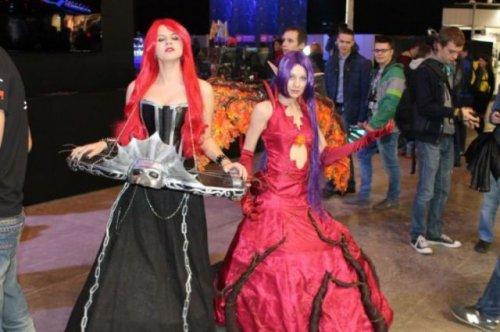 Участники первого в России фестиваля Comic Con (33 фото)