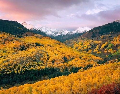 Осеннее преображение природы в фотографиях (23 фото)