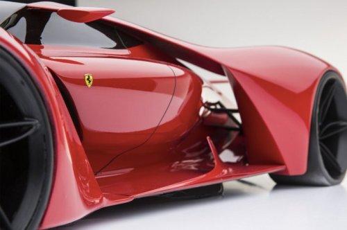 Концепт суперкара Ferrari F80 (8 фото)