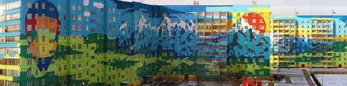 Здания, которые добавляют яркие краски в серые будни (14 фото)