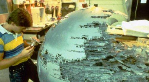 """Закулисье фильма """"Звёздные войны"""": как создавали модели космических кораблей (38 фото)"""