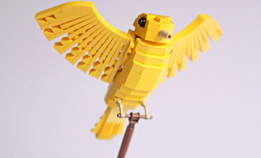 Лего птицы фото