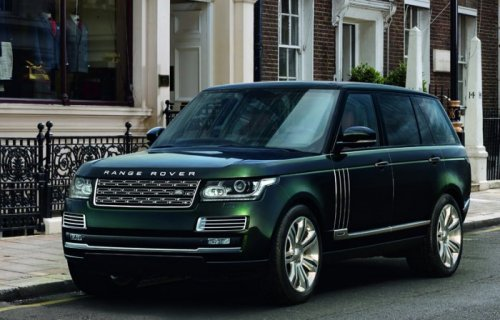 ����������� Holland & Holland Range Rover ���������� 300.000 �������� (7 ����)