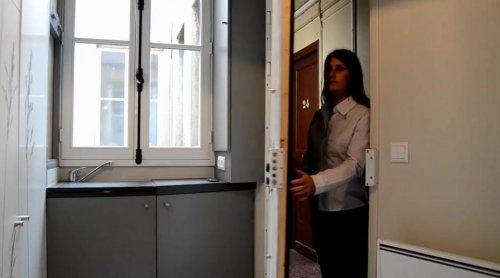 Квартира площадью всего 8 м² для ценителей минимализма
