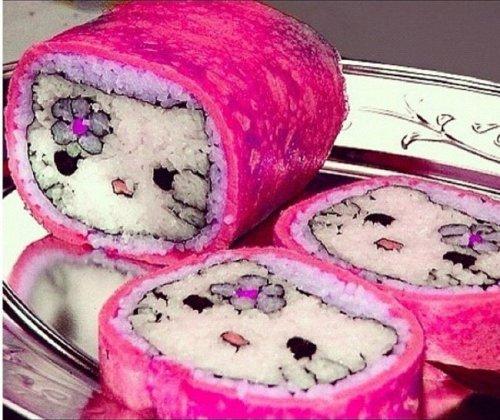 Художественная лепка из риса: оригинальные кадзари-суши (29 фото)