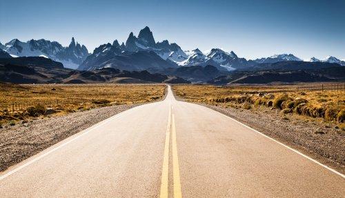 Живописные дороги мира (19 фото)
