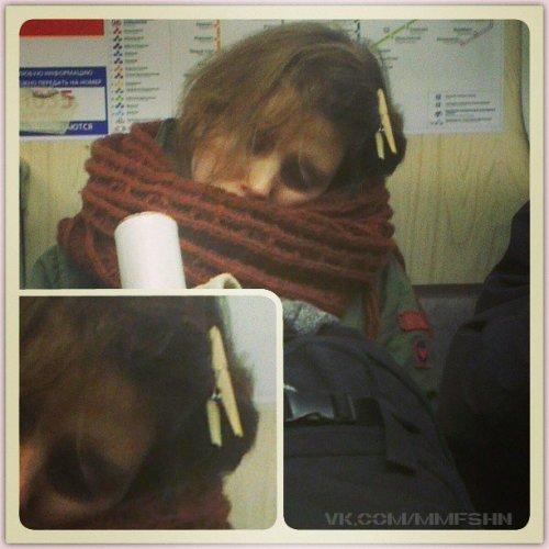 Модники московского метро (30 фото)