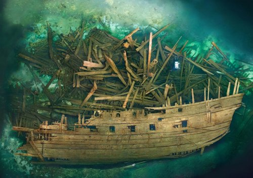Впечатляющие фотографии мест кораблекрушений по всему свету (28 шт)