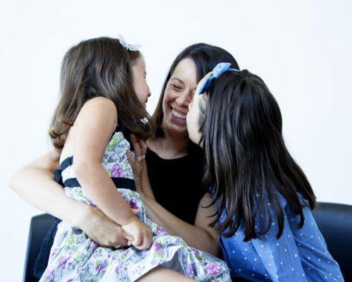 Маленькие девочки делают своих мам красивыми (15 фото)