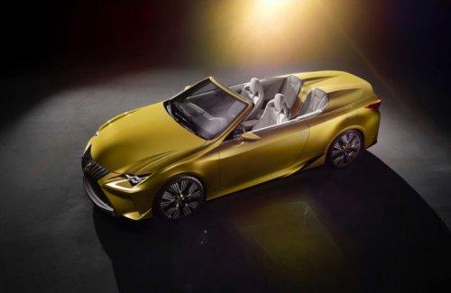 На автосалоне в Лос-Анджелесе представлен Lexus LF-C2 Concept без крыши (12 фото)