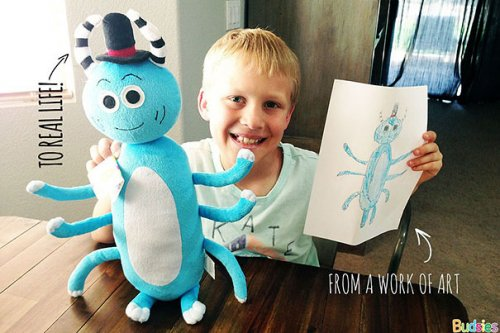 Мягкие игрушки из детских фантазий (15 фото)