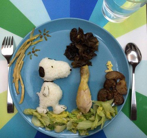 Творческие завтраки матери четверых детей (28 фото)