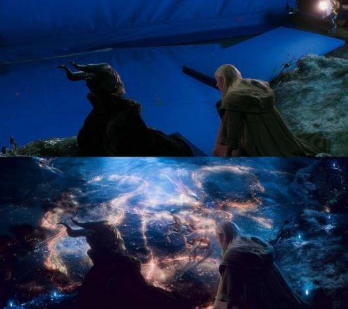 Как создаются спецэффекты к фильмам (12 фото)