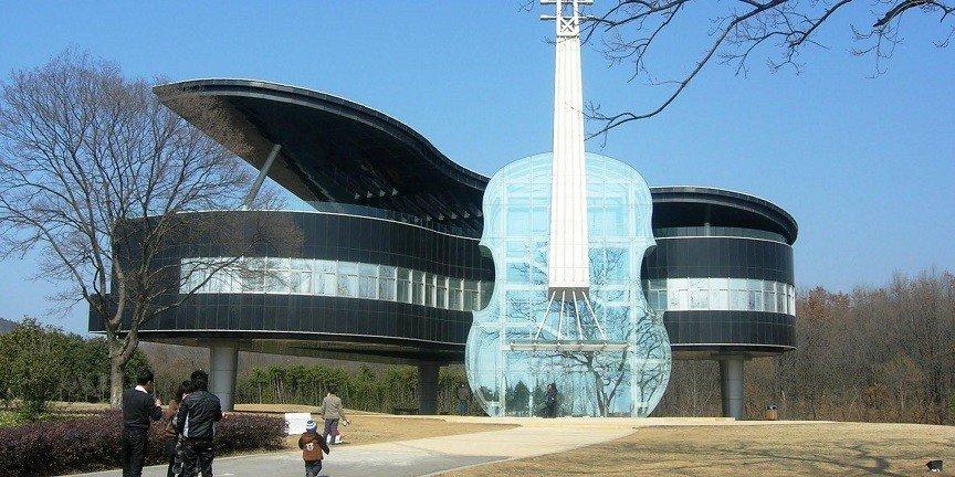 необычные здания мира. фото