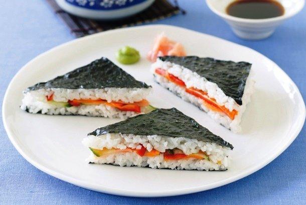 Сэндвич роллы рецепт