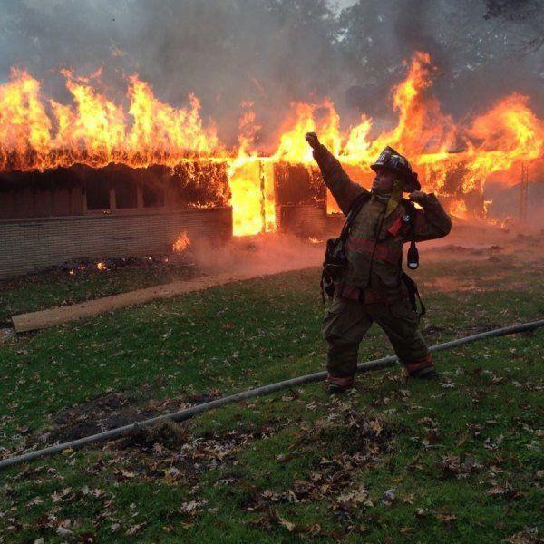 Картинки, картинка прикольная с пожаром