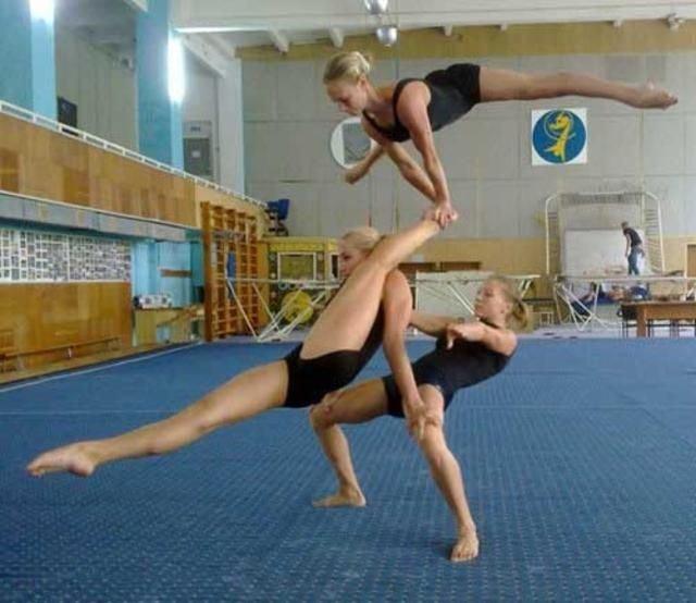 Фото приколы по гимнастике