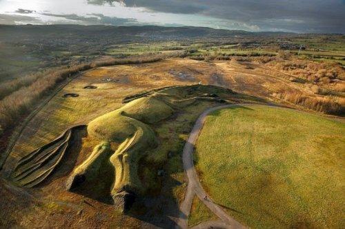 Гигантская фигура пит-пони в Уэльсе (7 фото)