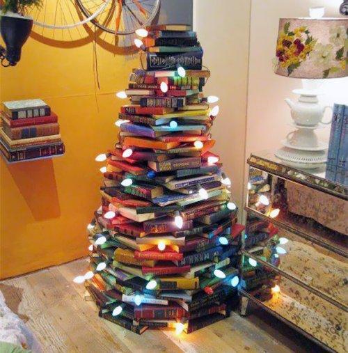 Новогодняя елка своими руками (45 фото)