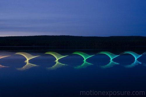 Спортивная светографика Стивена Орландо (12 фото)