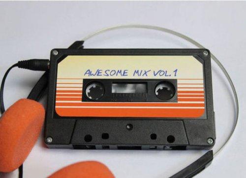 MP3-плейер в ретро-стиле из аудиокассеты (14 фото)