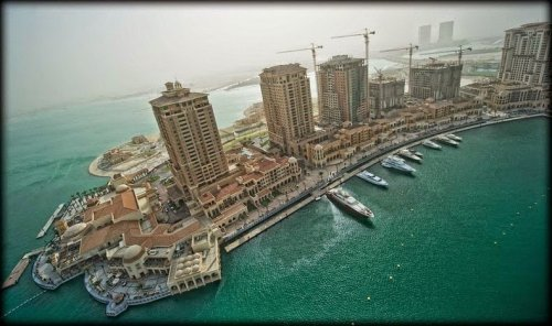 Роскошный искусственный остров Pearl-Qatar (8 фото)