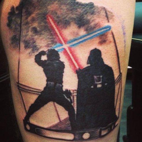 """Татуировки в стиле """"Звёздных войн"""" (36 фото)"""