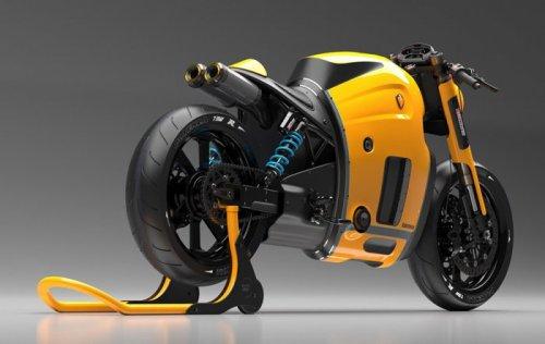 Концептуальный мотоцикл Koenigsegg (4 фото)