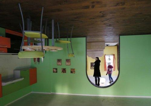 В Красноярске построили дом-перевёртыш (10 фото)