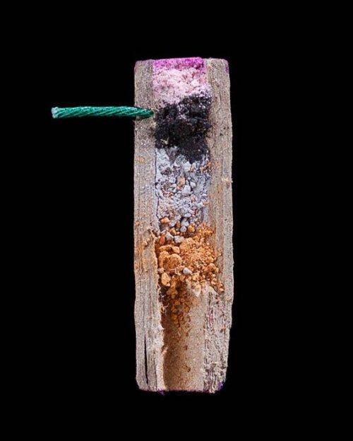 Петарды и фейерверки в продольном сечении (9 фото)