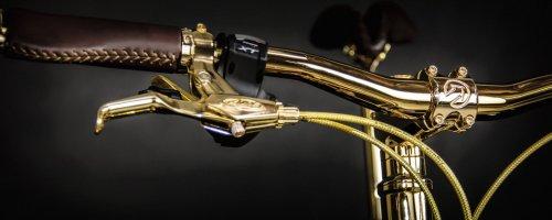 Горный велосипед из золота для любителей роскоши (9 фото)