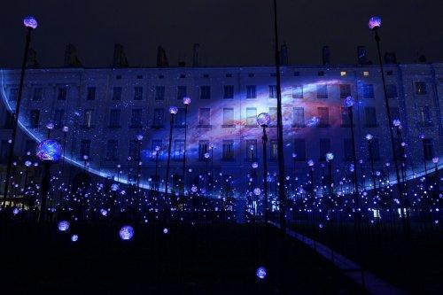 В Лионе прошёл фестиваль света 2014 Fête des Lumières (23 фото + видео)