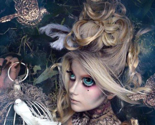 Искусство экстремального грима, вдохновлённое миром тёмной фантазии (16 фото)
