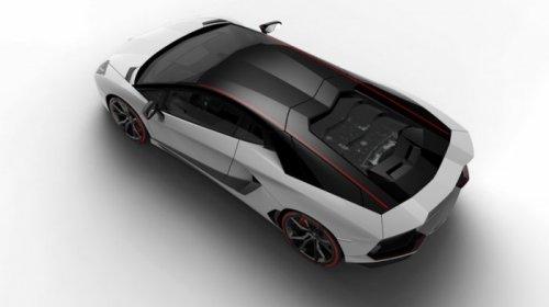 Суперкар Lamborghini Aventador LP700-4 Pirelli Edition в честь 50-летнего партнёрства Lamborghini и Pirelli (6 фото)
