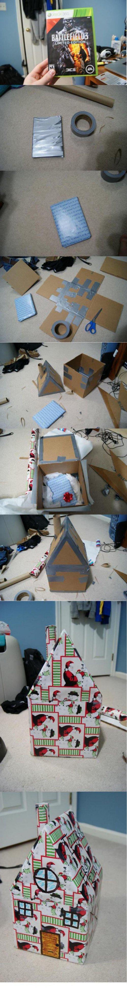 Как оригинально упаковать подарок с приколом