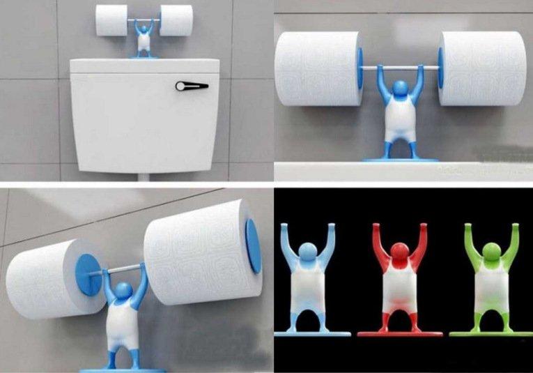 Как можно сделать держатель для туалетной бумаги своими руками 47
