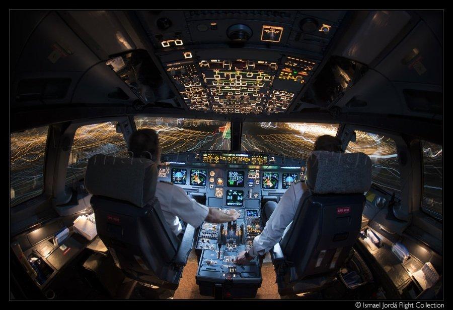 интегрированная фото в кабине пилота дизайн